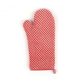 Bunzlau Ovenwant Small Check Red