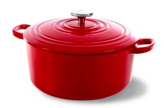 BK Bourgogne Braadpan Chili Red - 28cm