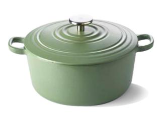 BK Bourgogne Braadpan Olive Green - 28cm